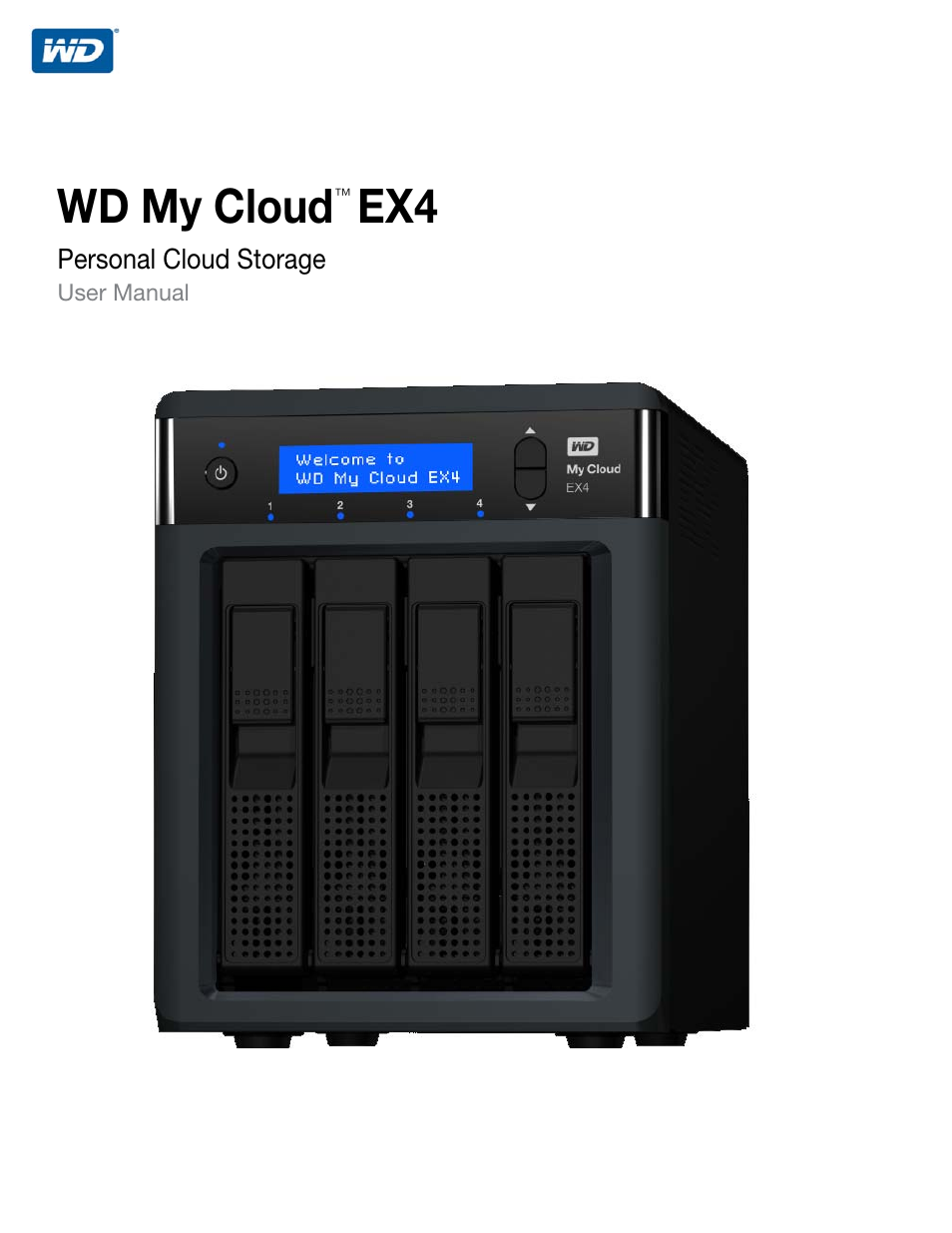 Western Digital My Cloud EX4 User Manual User Manual | 170 pages