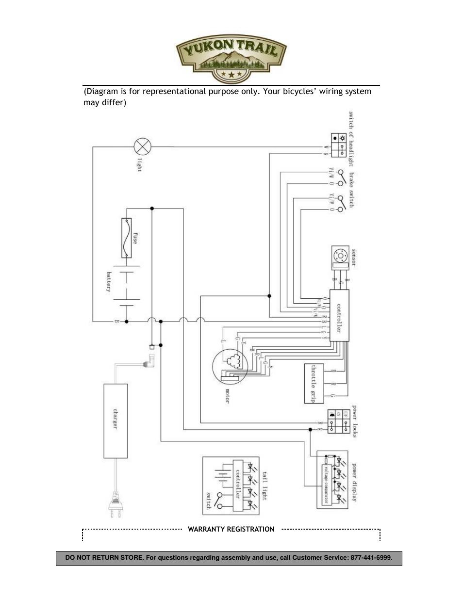 Yukon Trail Dirt Hawk 20 Owners Manual User Manual