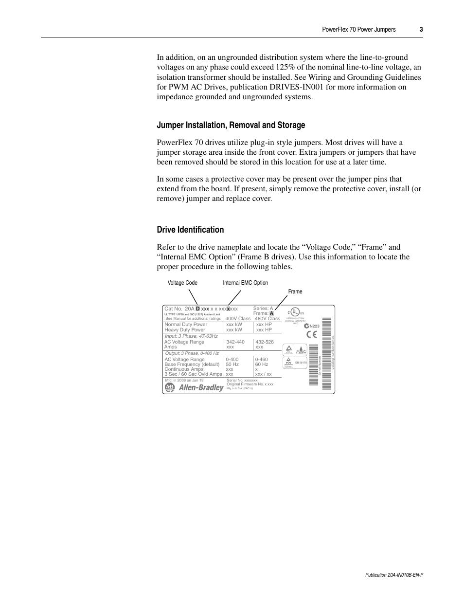 powerflex 400 user manual pdf