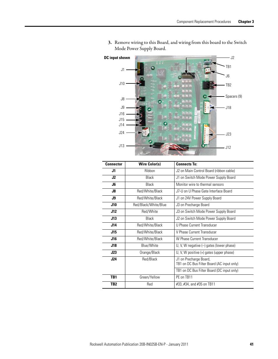 rockwell automation pf700 powerflex 700 drive components replacement rh manualsdir com powerflex 700 user manual pdf allen bradley powerflex 700 user manual