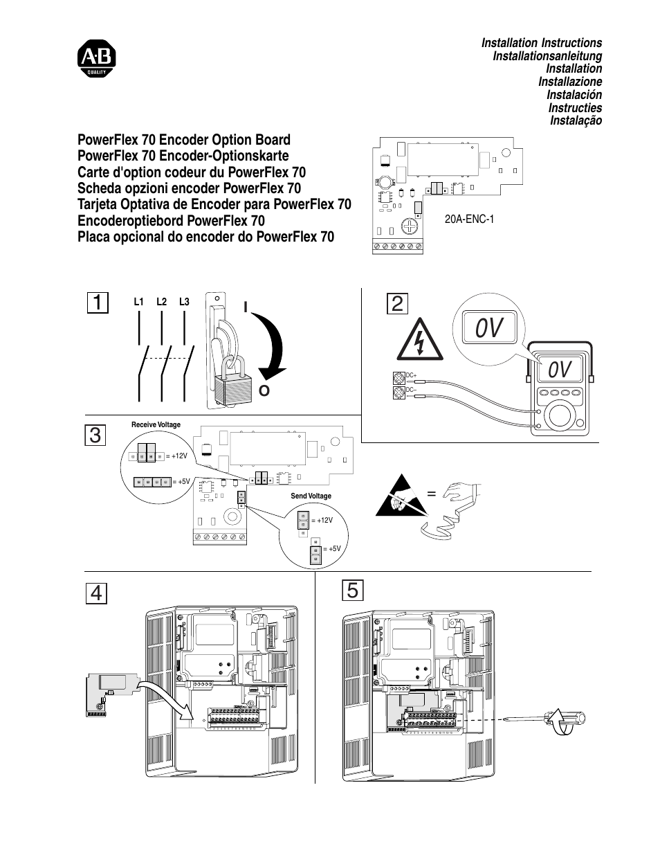 rockwell automation 20a powerflex 70 encoder kit page1 rockwell automation 20a powerflex 70 encoder kit user manual 2 pages ab powerflex 70 wiring schematic at crackthecode.co