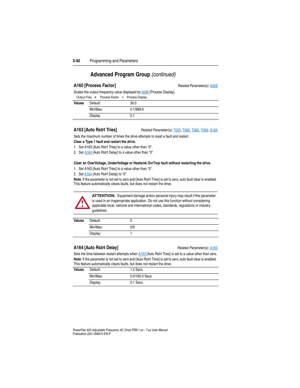 a160 a163 advanced program group continued rockwell automation rh manualsdir com
