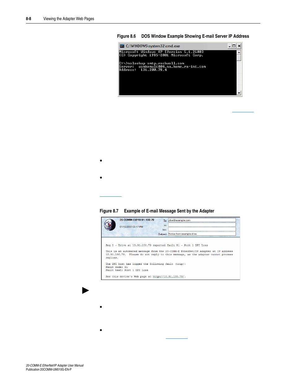 Figure 8 7 | Rockwell Automation 20-COMM-E PowerFlex EtherNet/IP