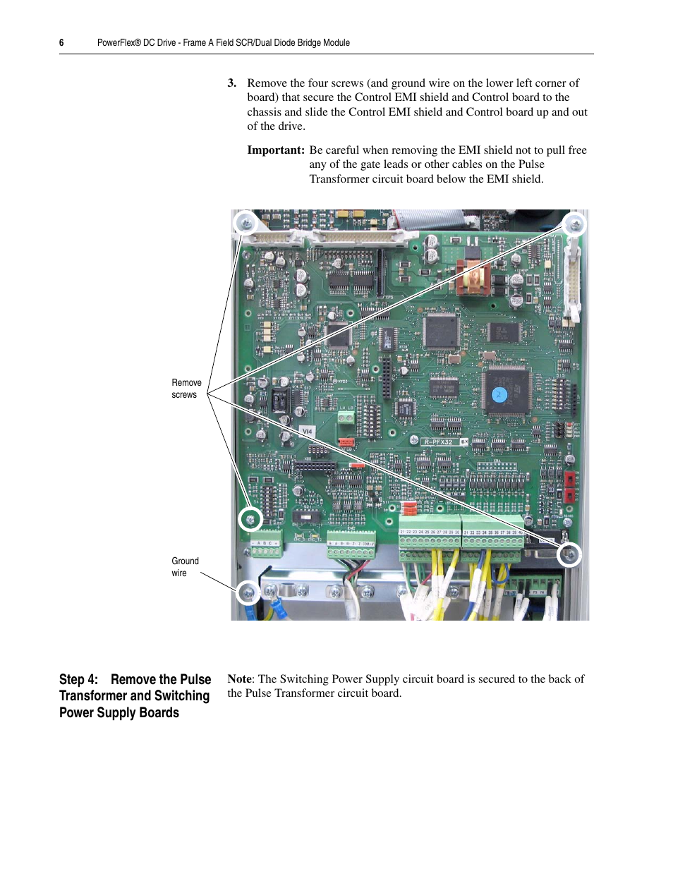 Rockwell Automation 20p Powerflex Dc Drive Frame A Field Scr Dual 40 Ethernet Wiring Diagram Diode Bridge Module User Manual Page 6 14