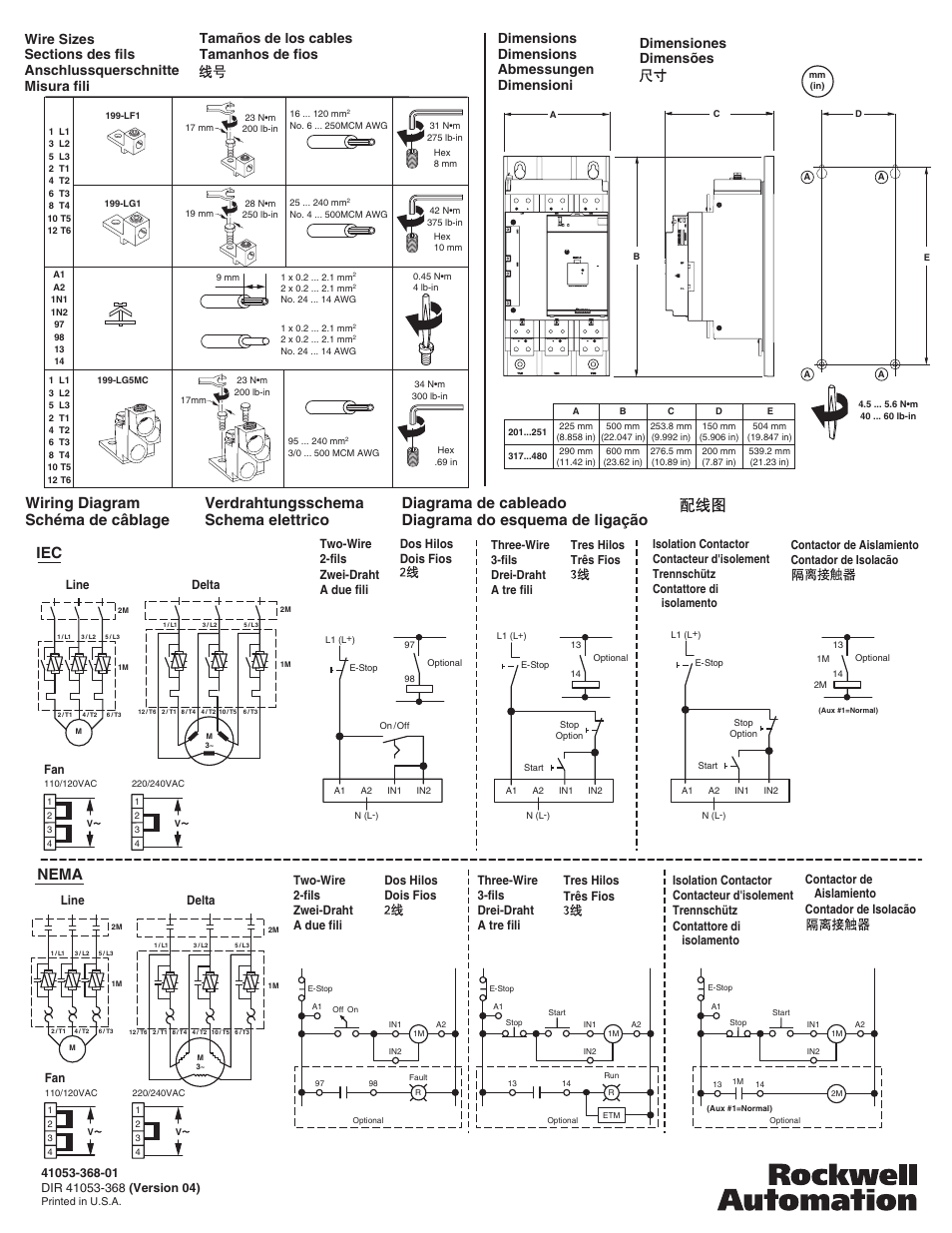 rockwell automation 150 smc 3 201a 480a soft starter 3 phase installations page4 wiring diagram sch�ma de c�blage iec, nema, verdrahtungsschema smc fan wiring diagram at bayanpartner.co
