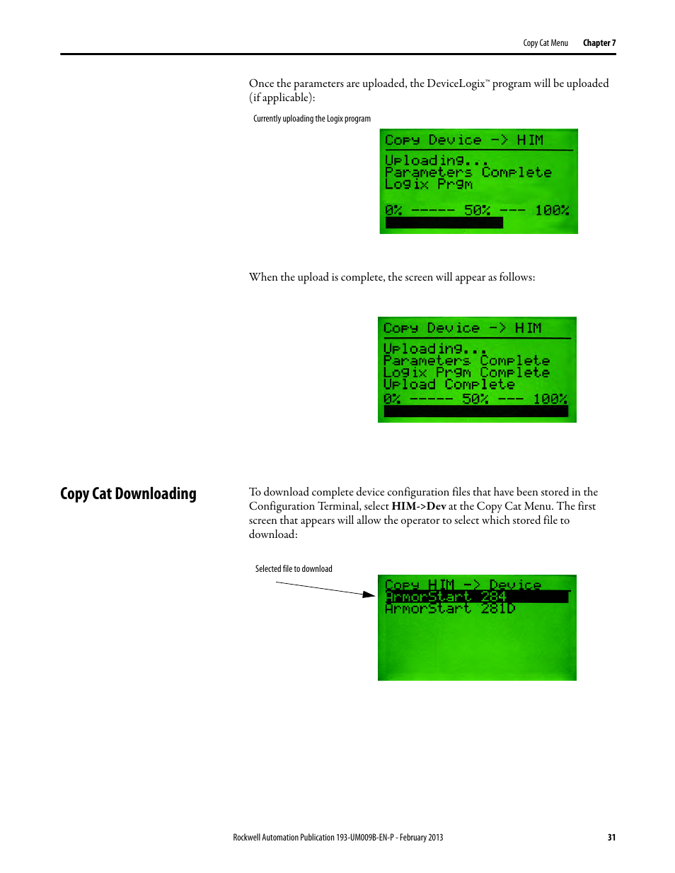 Copy cat downloading | Rockwell Automation 193-DNCT