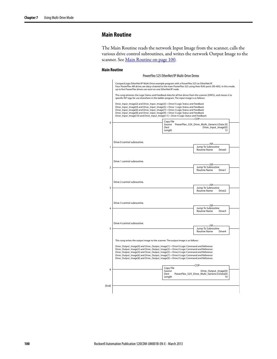 Main Routine Powerflex 525 Ethernet Ip Multi Manual Guide