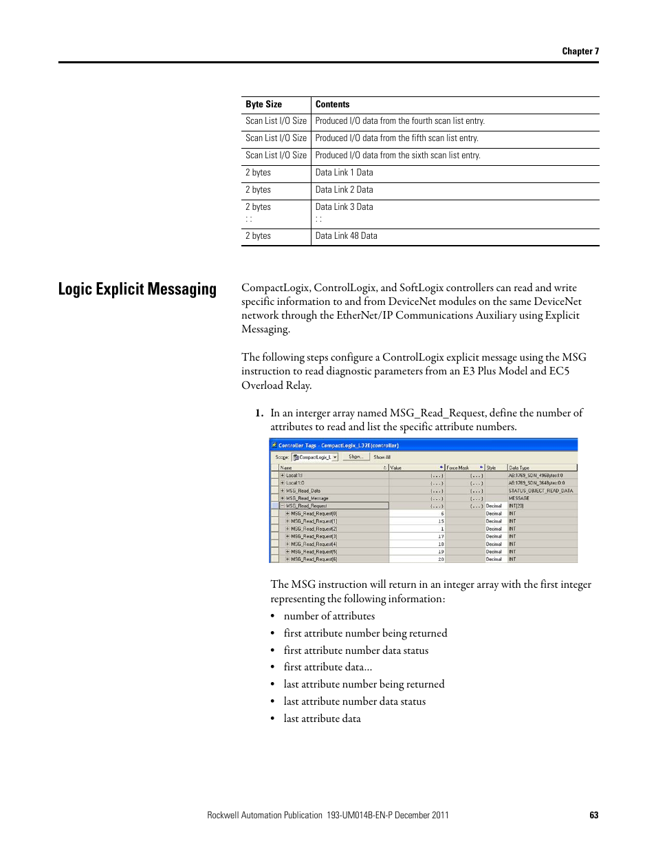 logic explicit messaging rockwell automation 193 dnencatr ethernet rh manualsdir com logic user manual logic pro user manual