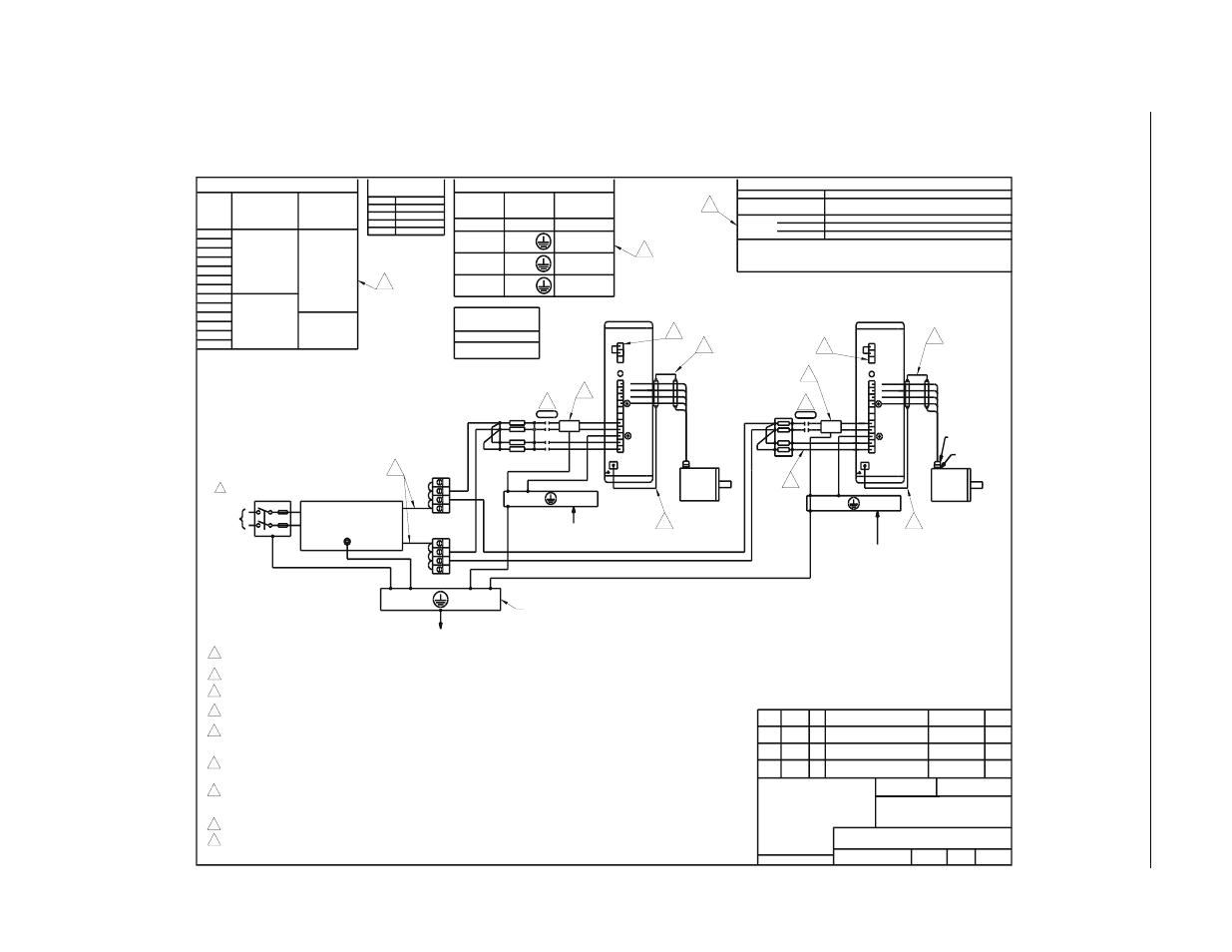 Power Wiring Diagram Figure 54 Diagrams Rockwell Sheet 1 Of