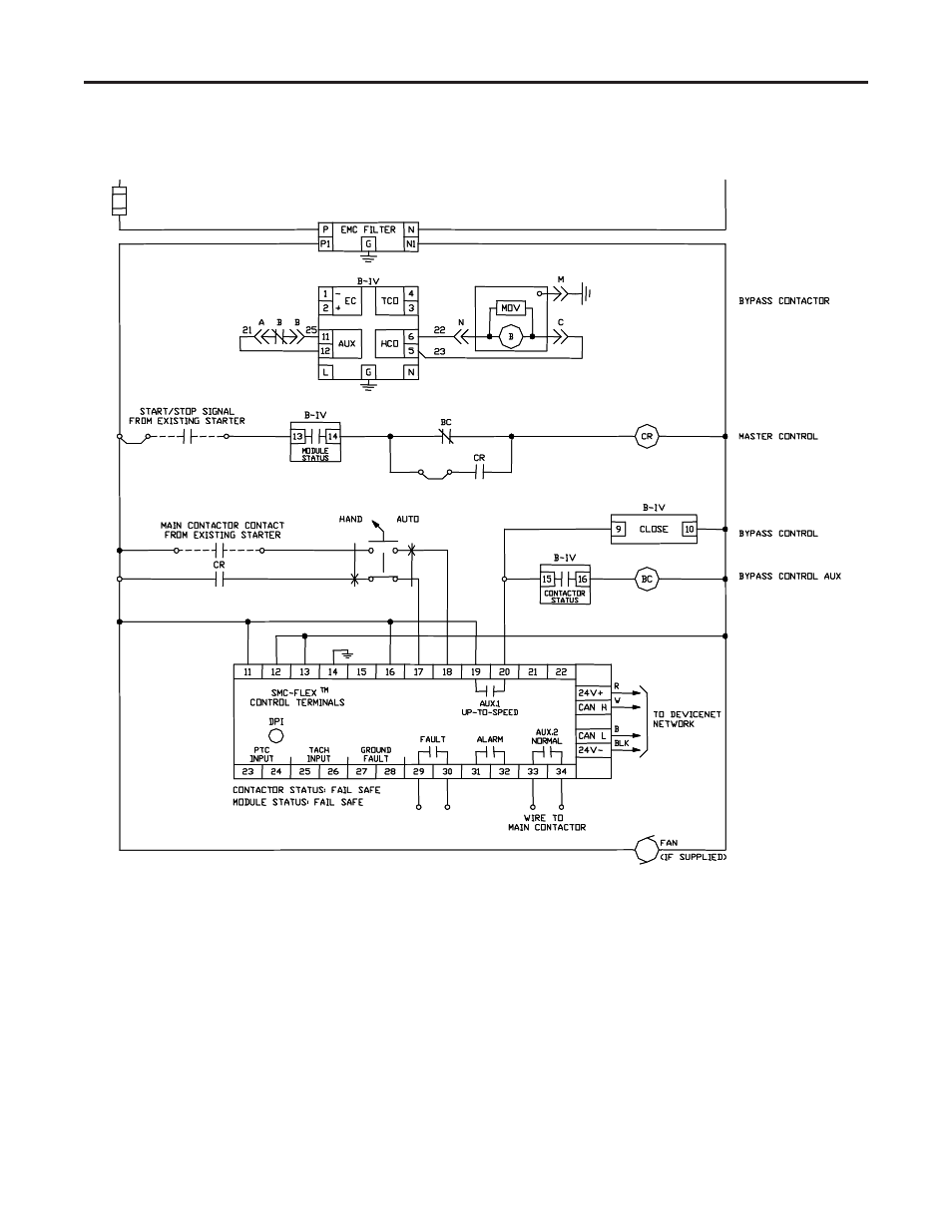 Rockwell Automation 1560e Smc Flex Smart Motor Controller User Engine Diagram Manual Page 47 198