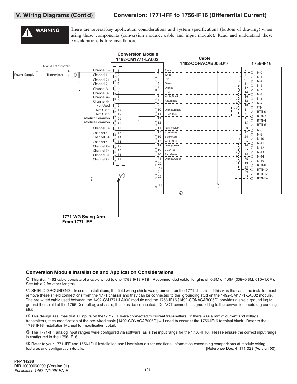 V. wiring diagrams (cont'd) | Rockwell Automation 1492 ... on