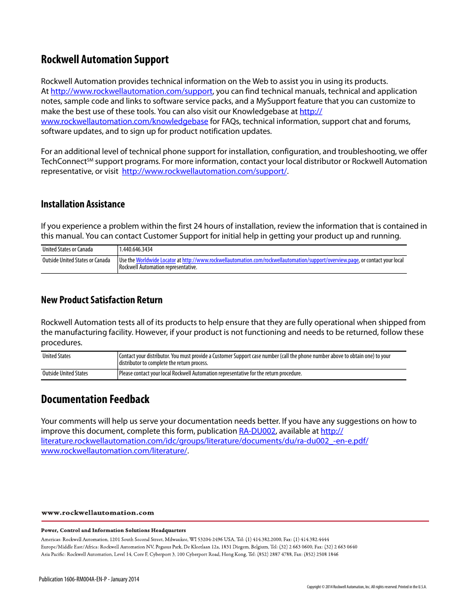1606 back rockwell automation support documentation feedback rh manualsdir com Automated Mechanical Process Systems Inc Automated Mechanical Process Systems Inc