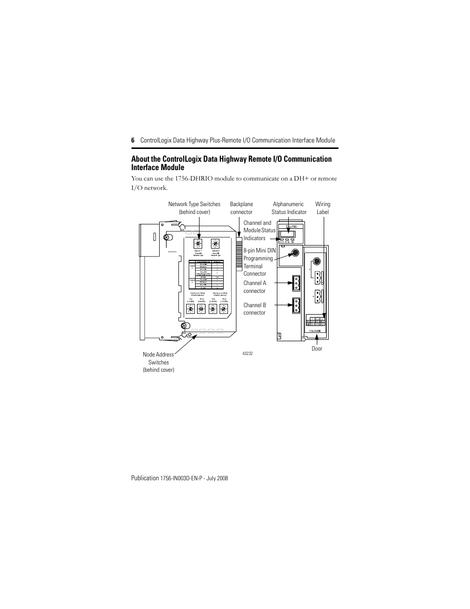 Data Highway Plus Wiring Diagrams Great Installation Of Rockwell Diagram Automation 1756 Dhrio Controllogix Remote Rh Manualsdir Com Home Network