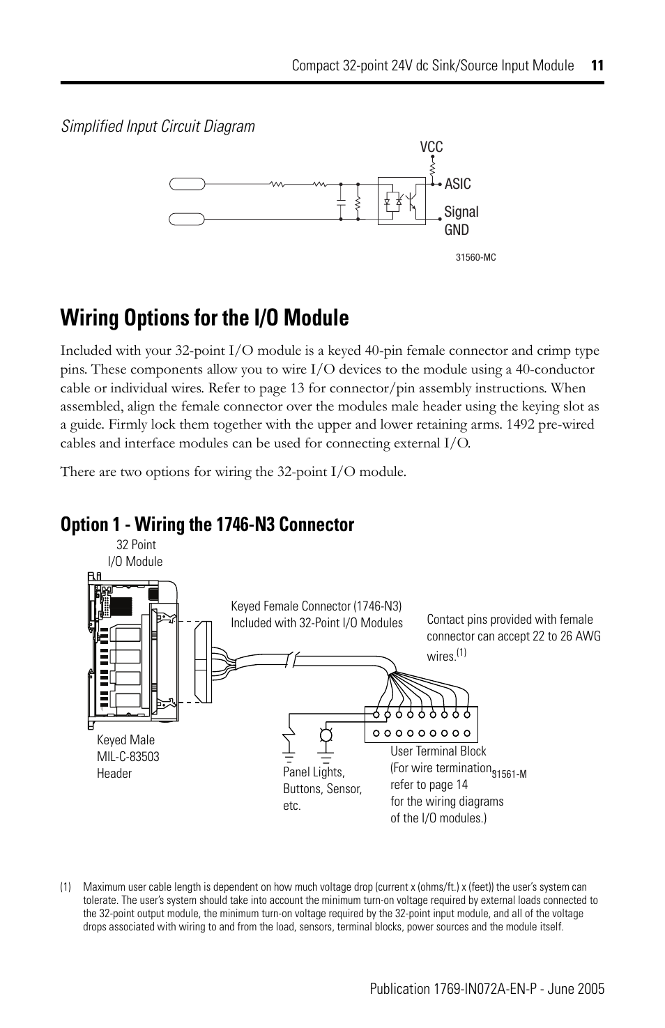Proform Mc45 Wiring Diagram Block Wiring Diagram Explanation Source · Wiring  options for the i o module Rockwell Automation 1769 IQ32T Compact Module  User ...