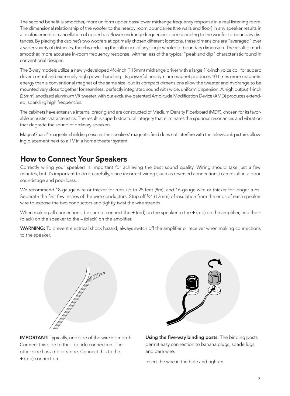 how to connect your speakers boston acoustics vrc user manual rh manualsdir com Boston Acoustics TV 20 Boston Acoustics A150 Speakers