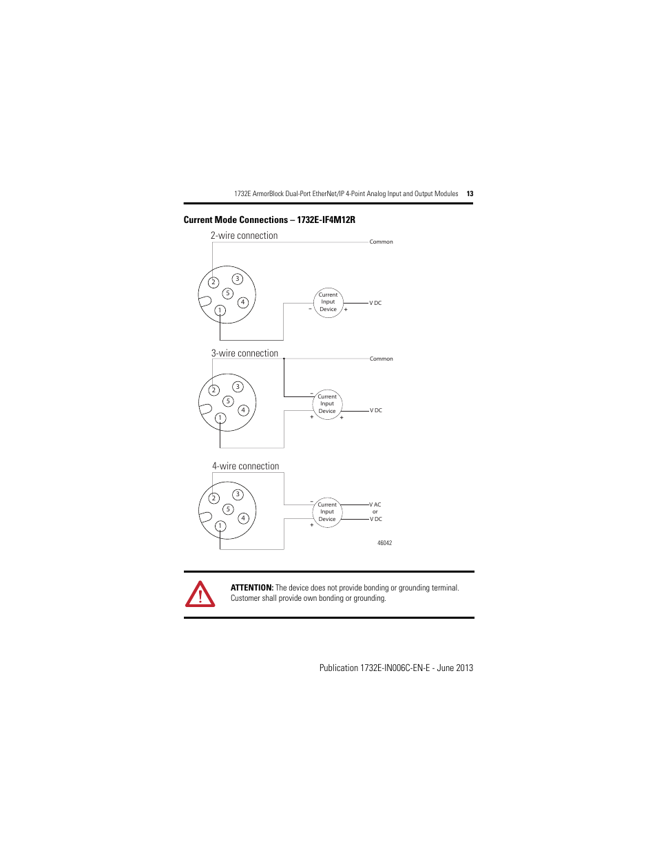 Wire Connection 4 Rockwell 2wire Wiring Diagram Ethernet Automation 1732e Of4m12r Armorblock Dual Port Ip Point Analog Input And Output User
