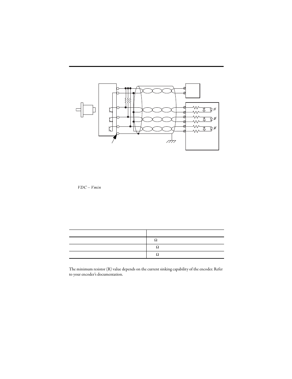 Figure 5 - single-ended encoder wiring Vdc vmin | Rockwell Automation 1769- HSC Compact High Speed Counter Module User Manual | Page 15 / 32  sc 1 st  manualsdir.com : 1769 hsc wiring - yogabreezes.com