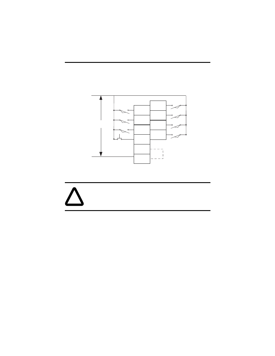 Input wiring   Rockwell Automation 1762-IA8 MICROLOGIX 120