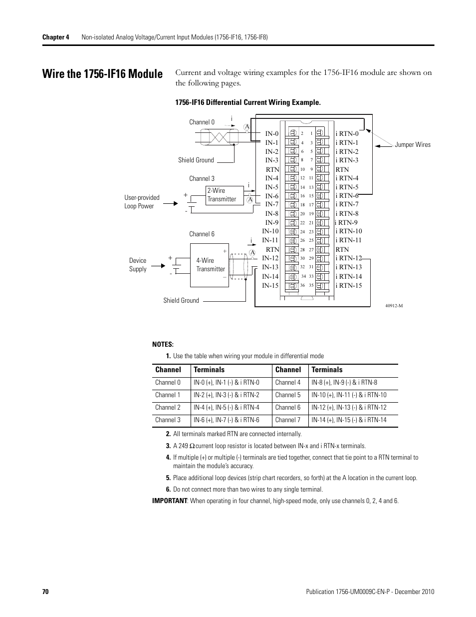 rockwell automation 1756 xxxx controllogix analog i_o modules page70 wire the 1756 if16 module rockwell automation 1756 xxxx rockwell automation wiring diagrams at alyssarenee.co