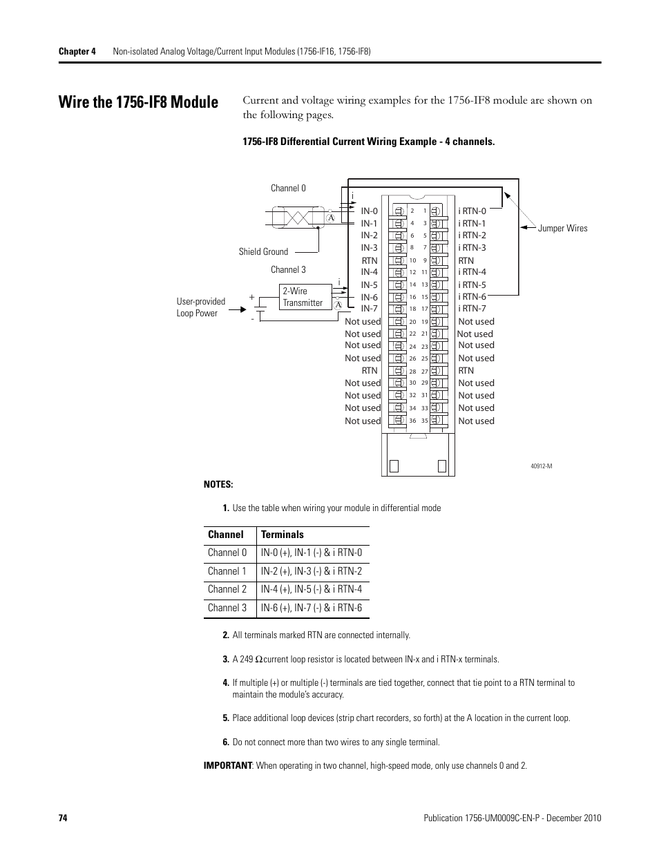 rockwell automation 1756 xxxx controllogix analog i_o modules page74 wire the 1756 if8 module rockwell automation 1756 xxxx 1756 if8 wiring diagram at reclaimingppi.co