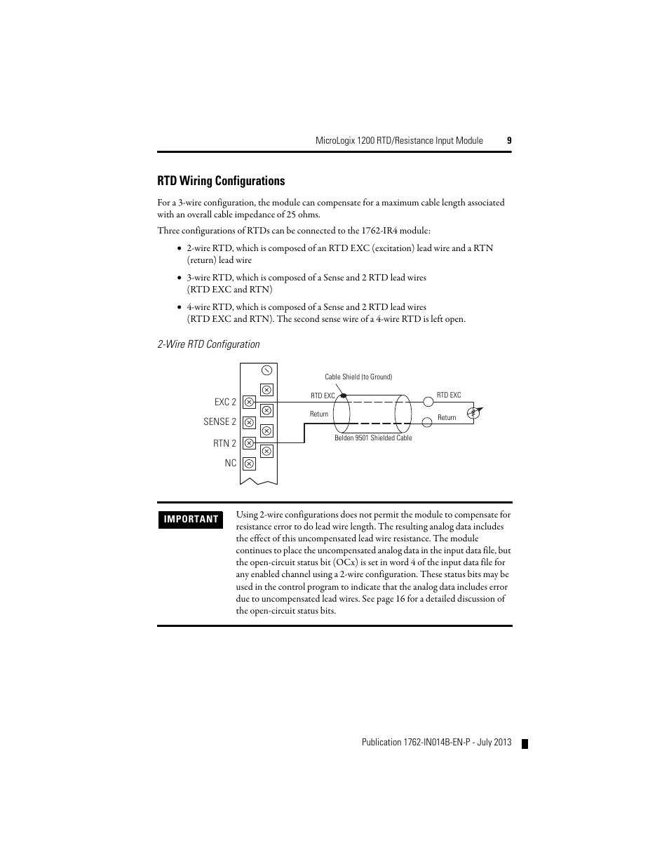 rtd wiring configurations rockwell automation 1762 ir4 rtd 16 Ohms 2wire Rtd rtd wiring configurations rockwell automation 1762 ir4 rtd resistance input module user manual page 9 24