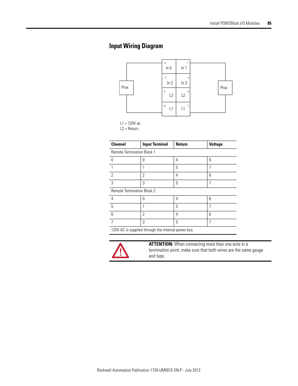 i o module wiring diagram input wiring diagram | rockwell automation 1734-xxxx point ... #10