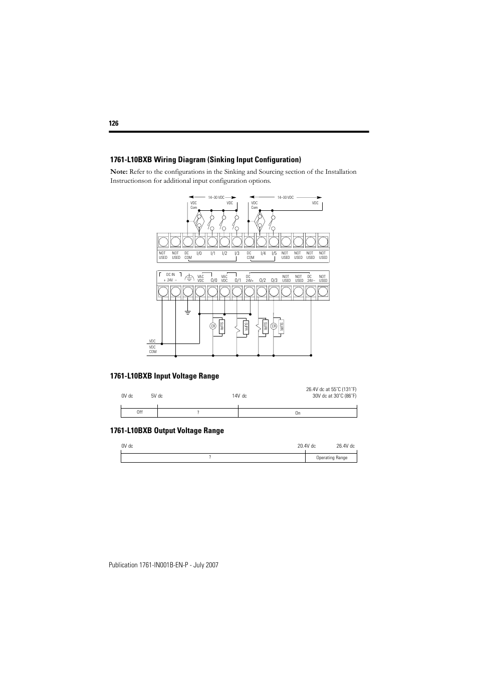 Micrologix 1000 Wiring Diagram Diagrams Work 1400 Rj45 1761 L10bxb Plc Analog