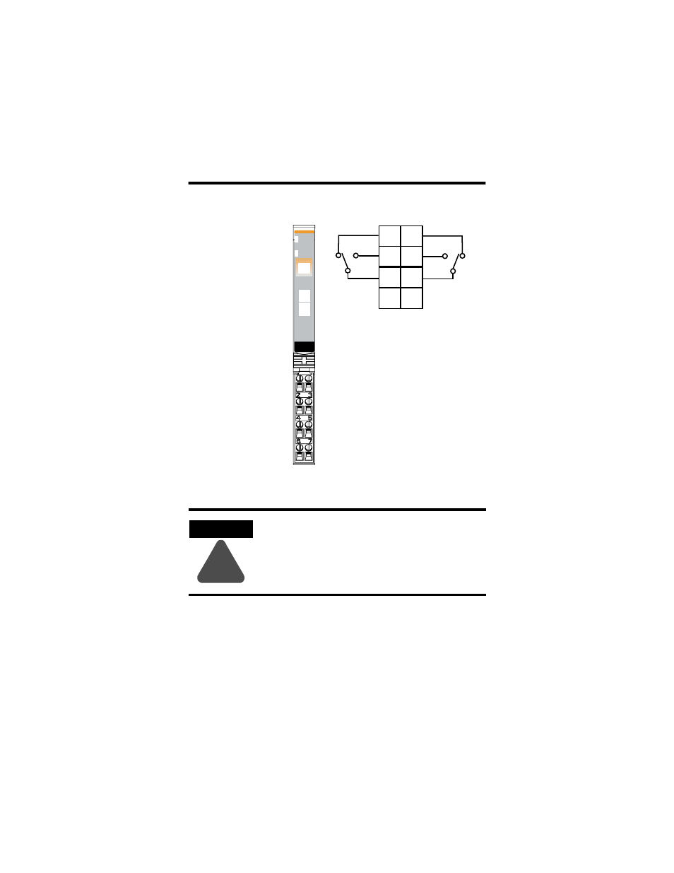 Wiring The Relay Output Module Rockwell Automation OXC - Normally open normally closed common relay