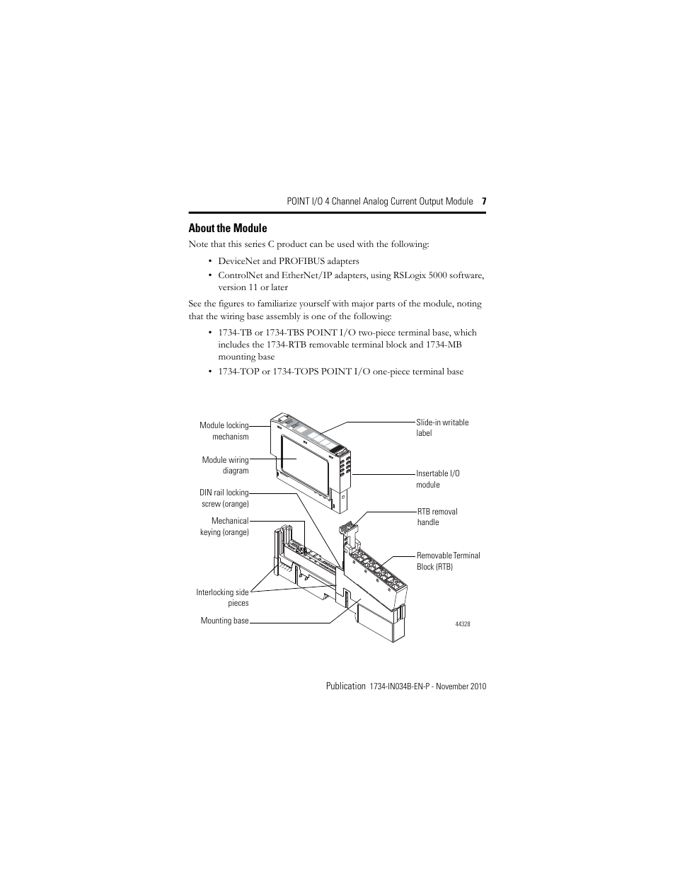 rockwell automation 1734 oe4c installation instructions page7 about the module rockwell automation 1734 oe4c installation 1734 oe4c wiring diagram at edmiracle.co