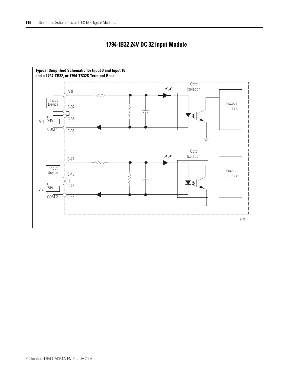 rockwell automation 1794 ob16d flex i_o diagnostic modules user manual page118 1794 ib32 24v dc 32 input module rockwell automation 1794 ob16d 1794 ib32 wiring diagram at mifinder.co