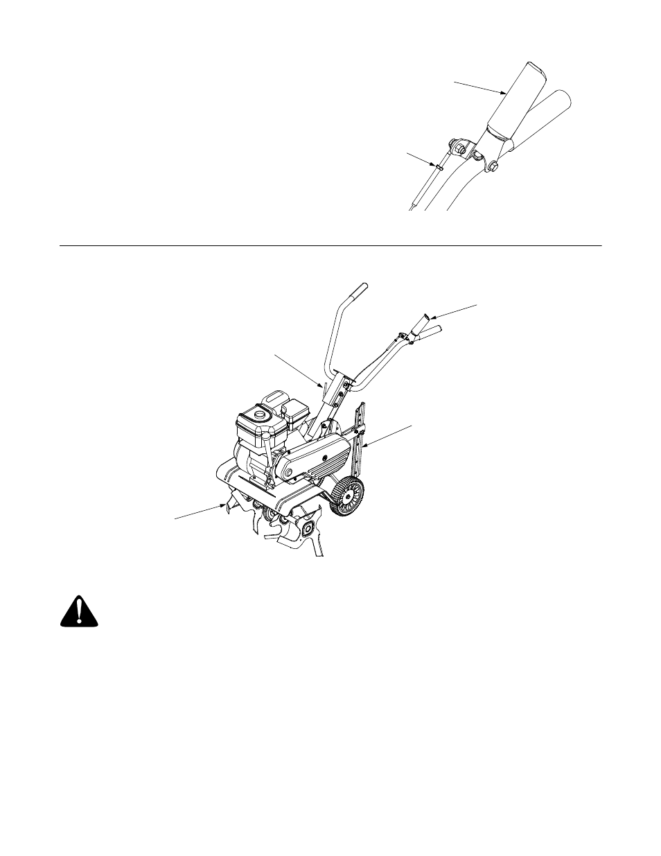 Check Cable Adjustment Tine Clutch Control Depth Stake Mtd Front Tiller 300 User Manual Page 6 20