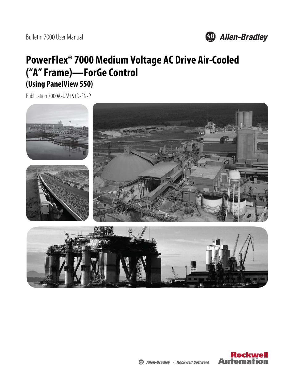 Rockwell Automation 7000A PowerFlex Medium Voltage AC Drive (A Frame ...