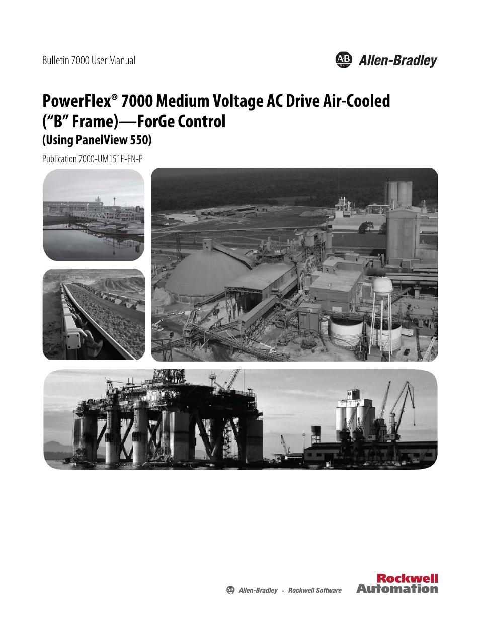 Rockwell Automation 7000 PowerFlex Medium Voltage AC Drive (B Frame ...