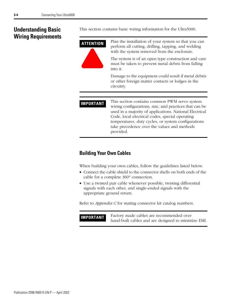 Understanding Basic Wiring Requirements Building Your Own Cables Type Of Codes 4