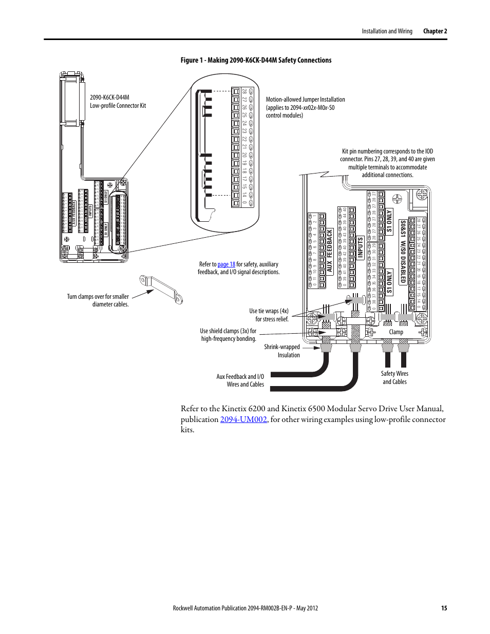 Rockwell Automation 2094-EN02D-M01-S0 Kinetix 6200 and Kinetix 6500 Safe Torque-off Safety Reference Manual User Manual | Page 15 / 42 | Also for ...  sc 1 st  manualsdir.com : safety wiring - yogabreezes.com