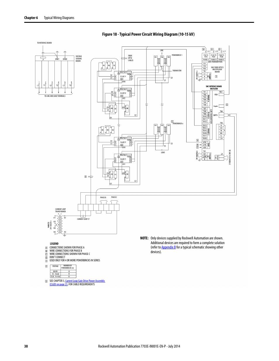 Rockwell Automation 7703e Medium Voltage Smc Oem Components 10 15 Wiring Diagram Kv User Manual
