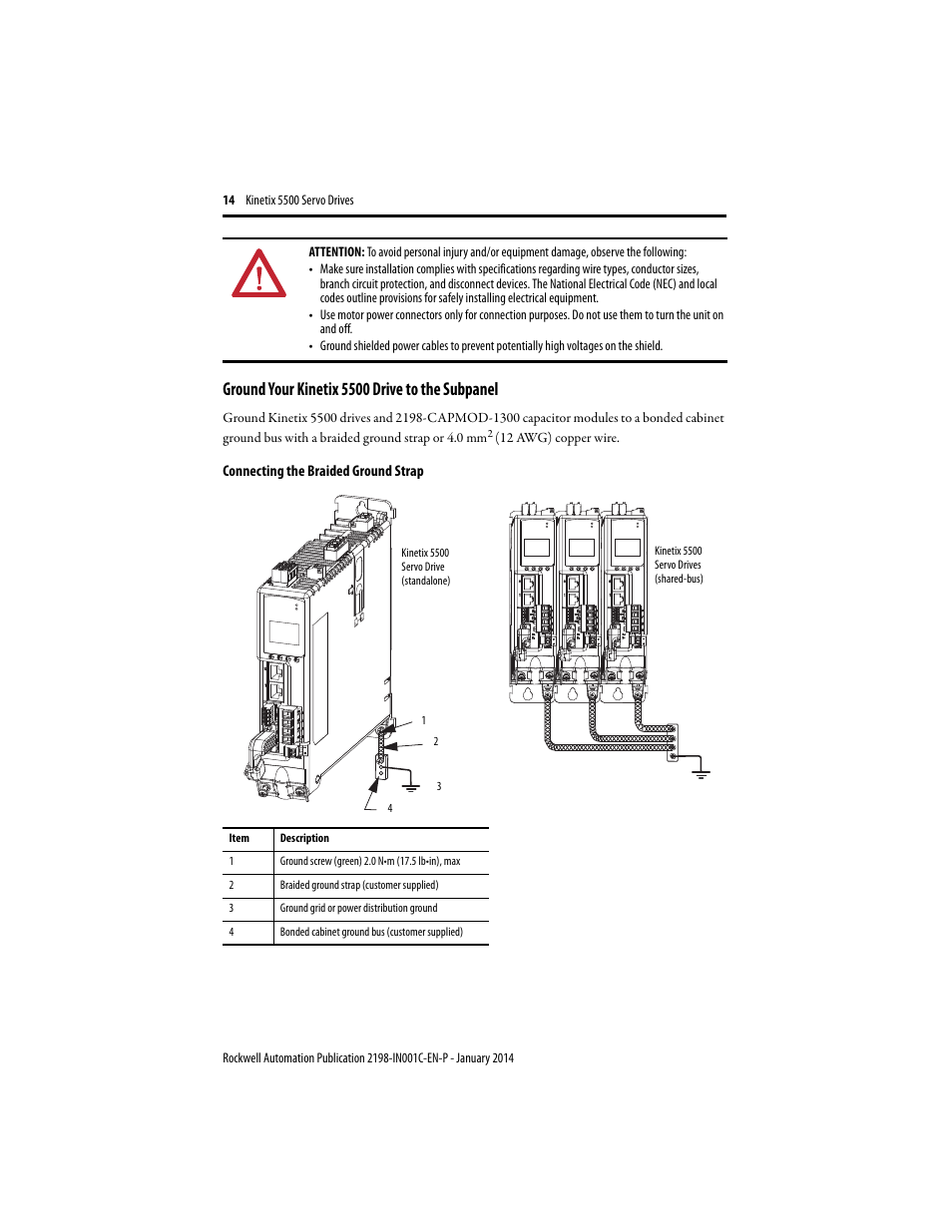Ground your kinetix 5500 drive to the subpanel rockwell automation ground your kinetix 5500 drive to the subpanel rockwell automation 2198 hxxx kinetix 5500 servo drives installation instructions user manual page 14 greentooth Image collections