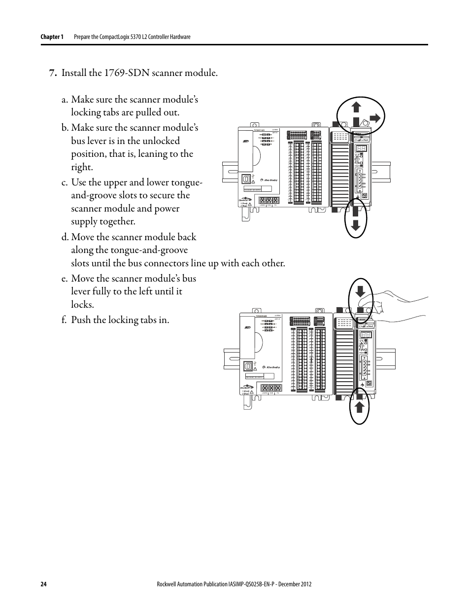Dc In Hsc Dc Out Analog Rockwell Automation 1769 L24er Qb1b L24er Qbfc1b L27erm Qbfc1b Compactlogix 5370 L2 Controllers Quick Start User Manual Page 24 86 Original Mode