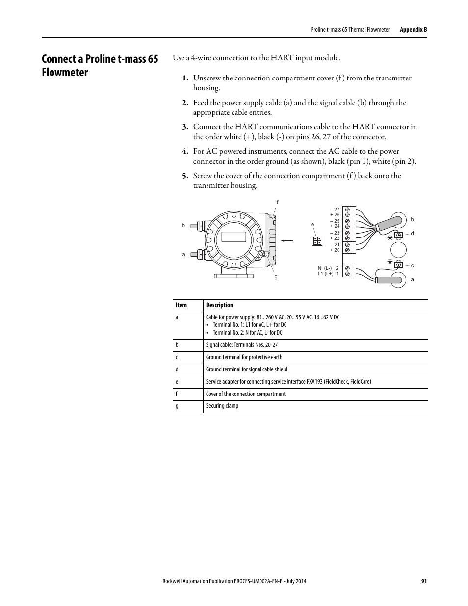 ... manuals topmalawis de Array - connect a proline t mass 65 flowmeter  rockwell automation 1734sc rh manualsdir com