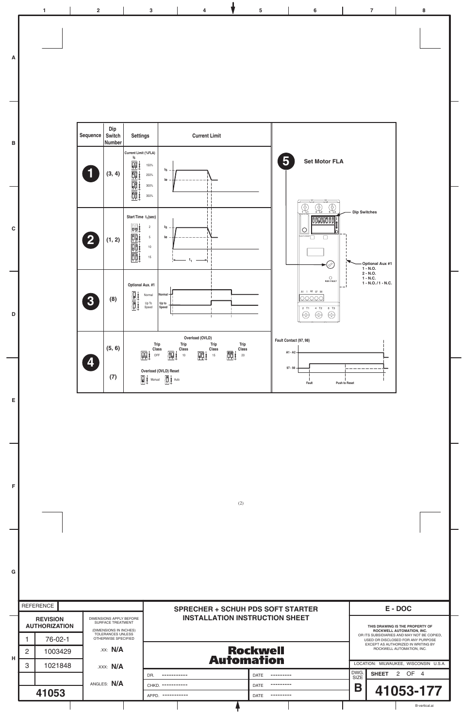 Rockwell Automation Soft Start Wiring Diagram - Wiring Circuit •