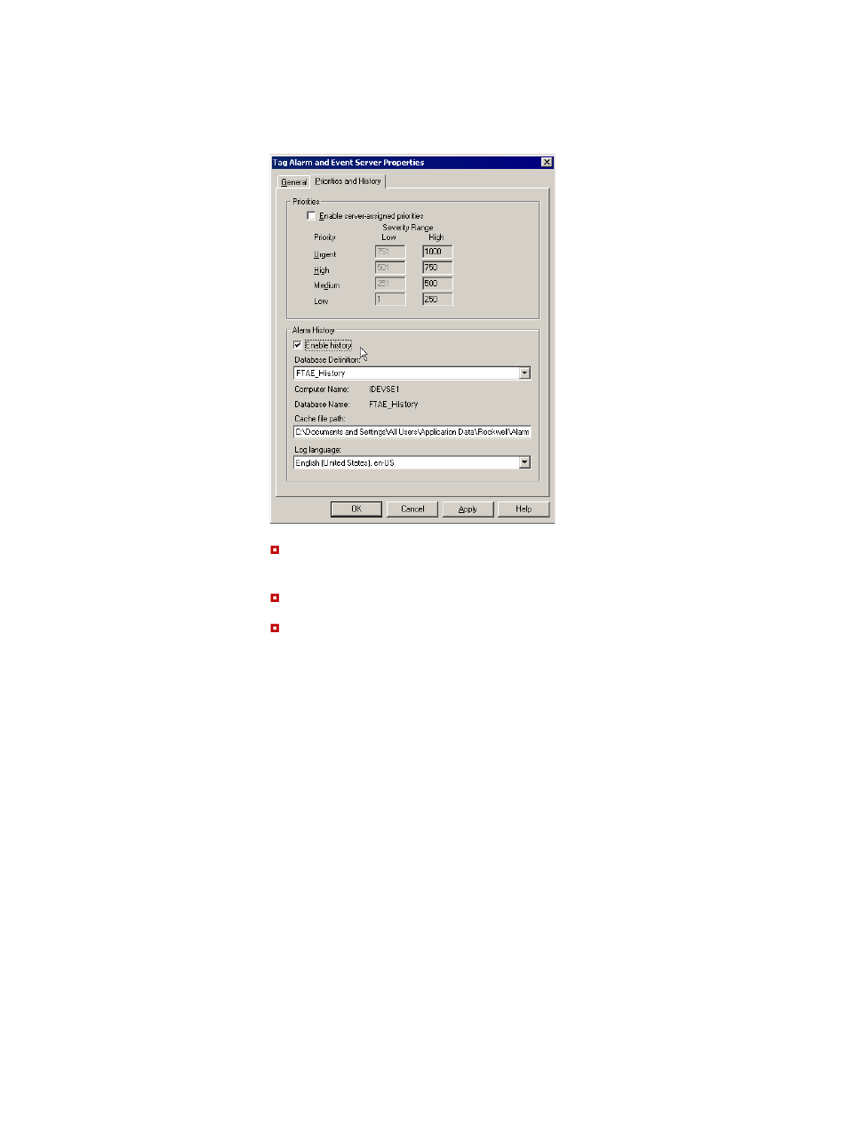 Create An Alarm And Event Log Viewer Display Rockwell border=