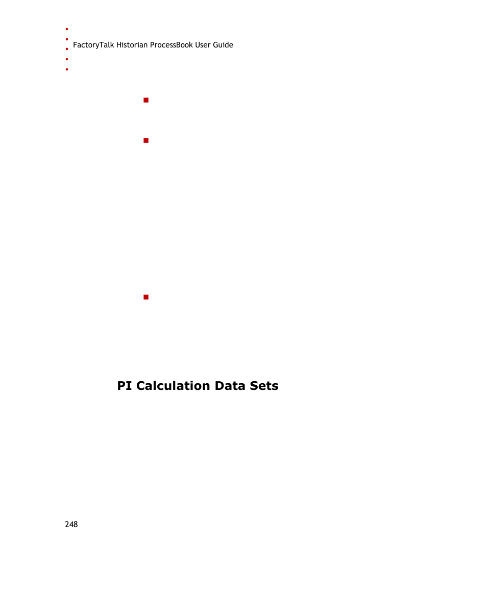 Pi processbook manual array pi calculation data sets e 248 rockwell automation factorytalk rh manualsdir com fandeluxe Image collections