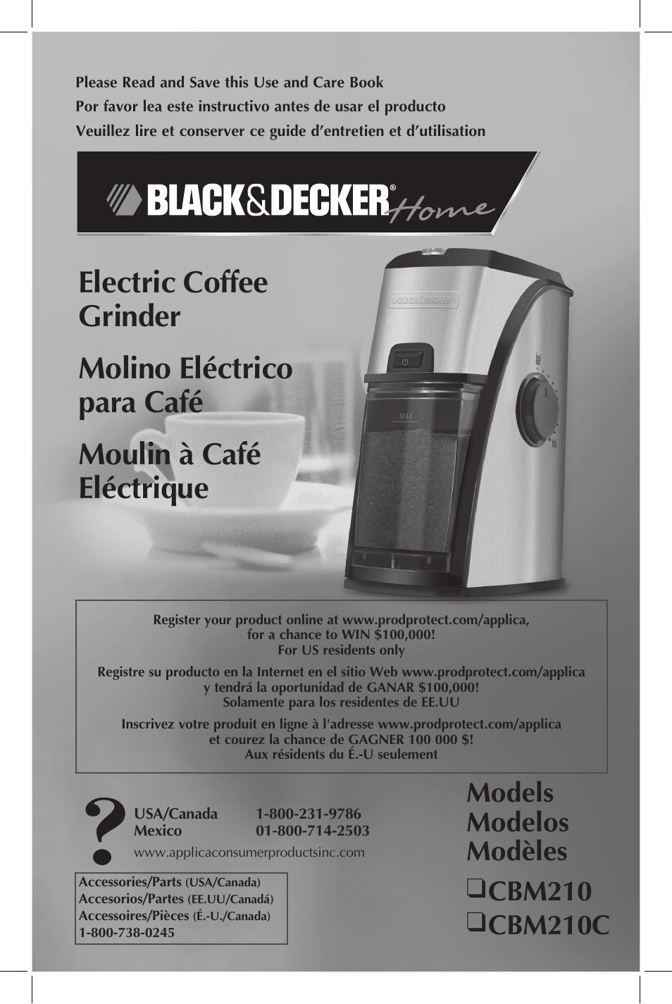 Coffee grinder black and decker black and decker coffee grinder.