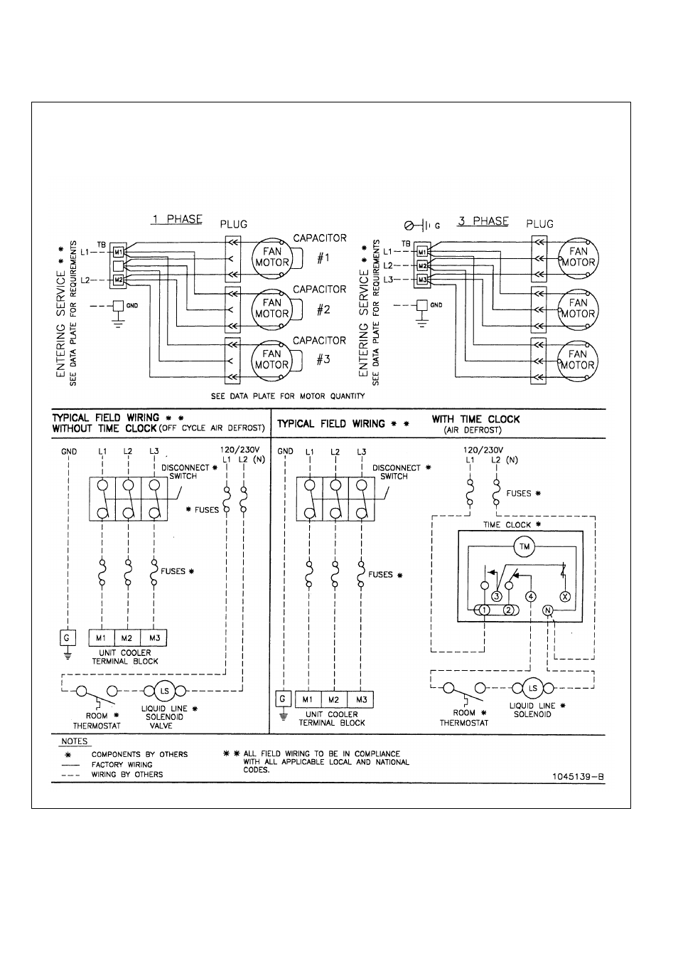 Wiring diagram | Bally Refrigerated Bo BB Medium Profile Unit ... on