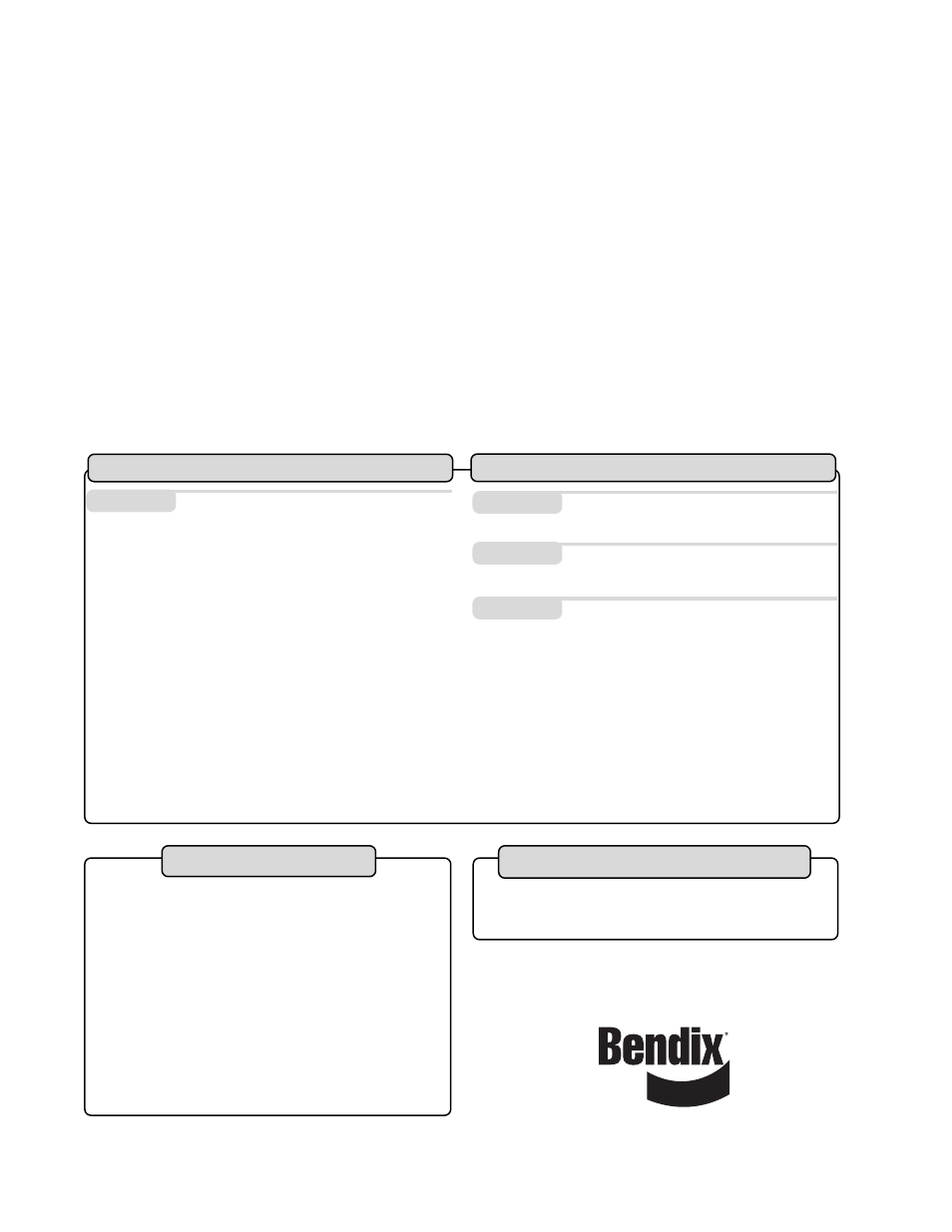 Index | Bendix Commercial Vehicle Systems TU-FLO 1000 AIR COMPRESSOR User  Manual | Page 16 / 40