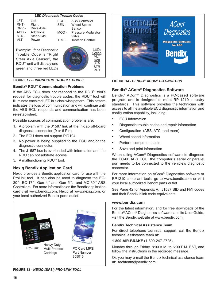 Bendix Commercial Vehicle Systems EC-60 ATC STD/PREM