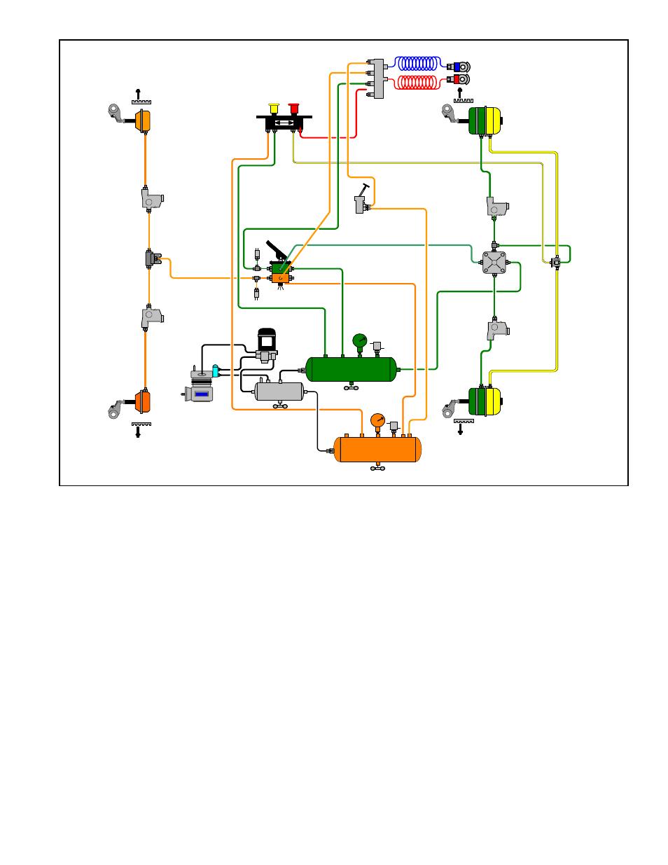 Bendix Trailer Air Brake System Diagram Best 2017 Wiring Diagrams Dot Color Diy