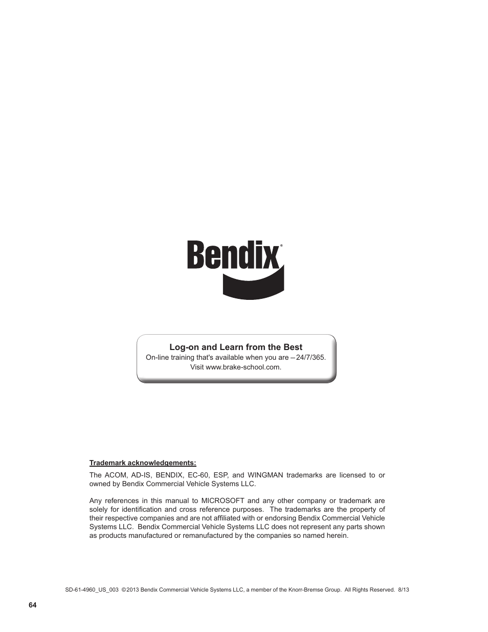 bendix commercial vehicle systems wingman advanced flr20 sensor user rh manualsdir com Bendix Roll Stability Bendix Single Wide