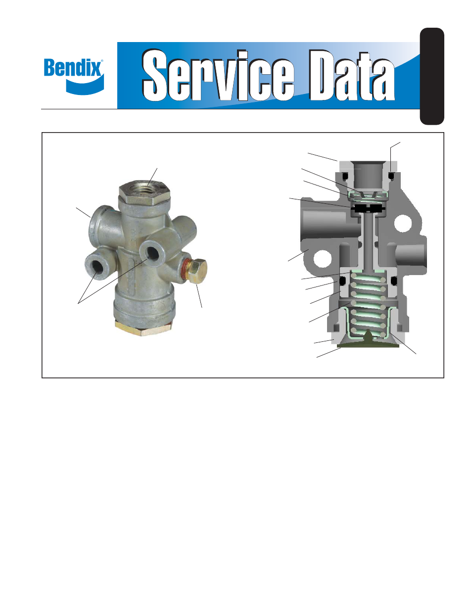 Bendix Commercial Vehicle Systems Rv 3 Pressure Reducing