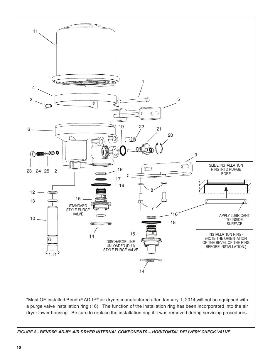 Bendix Commercial Vehicle Systems Ad 04 User Manual